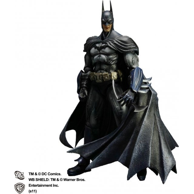 Batman Arkham Asylum Play Arts Kai Pre-Painted Figure: Batman