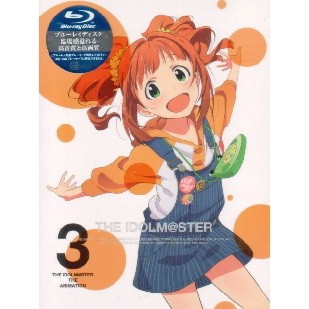 The Idolm@ster 3 [Blu-ray+CD Limited Edition]