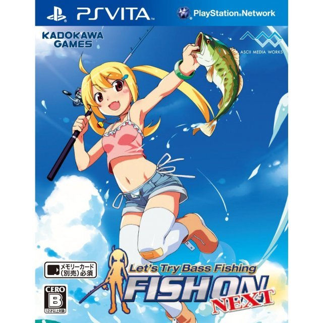 Let's Try Bass Fishing: Fish On Vita