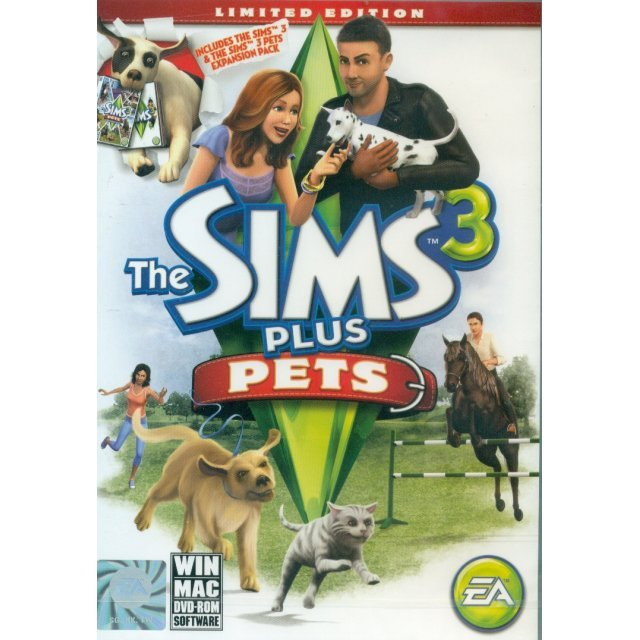 The Sims 3: Pets (Limited Edition) (DVD-ROM)