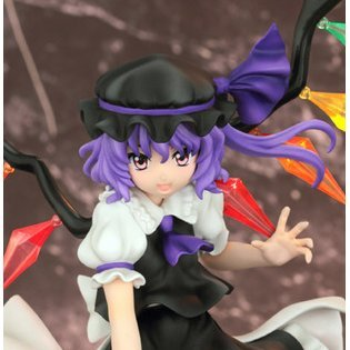 Touhou Project 1/7 Scale Pre-Painted PVC Figure: Flandre Scarlet- Laevatein Ver Black Color