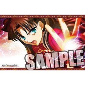Fate/stay Night -UNLIMITED BLADE WORKS- Large Mouse Pad: Tohsaka Rin