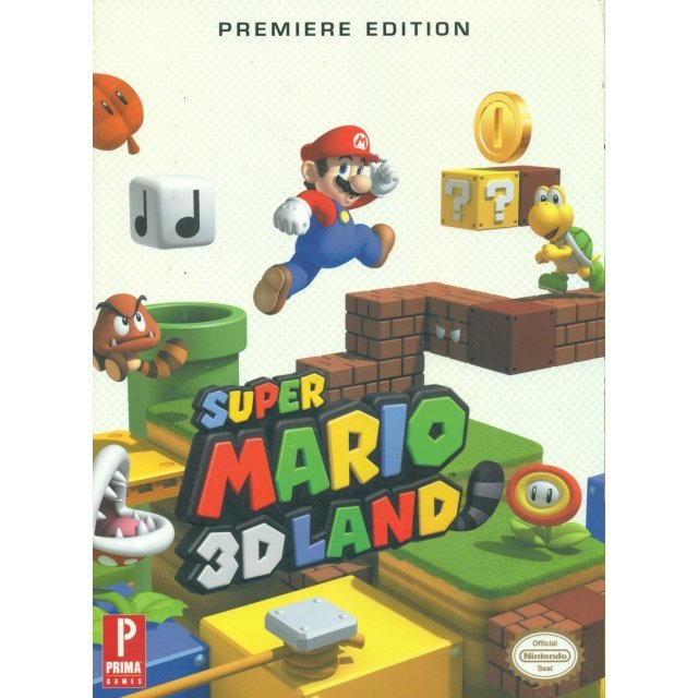 Super Mario 3D Land: Prima Official Game Guide [Premiere Edition]