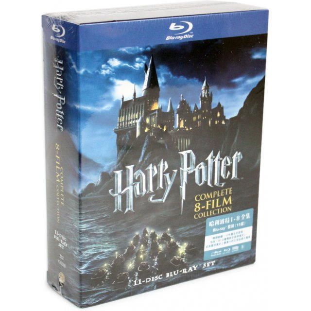Harry Potter Years 1-7 Part 2 BD Boxset (11-Disc)