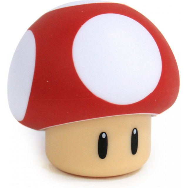 Super Mario Pre-Painted Salt & Pepper Shaker: Powerup Mushroom