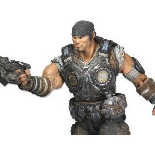 Gears of War 3 Pre-Painted Action Figure: Marcus