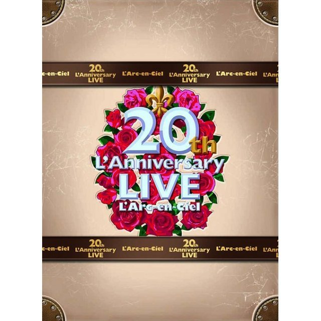 20th L'anniversary Live - Complete Box [4DVD Limited Edition]