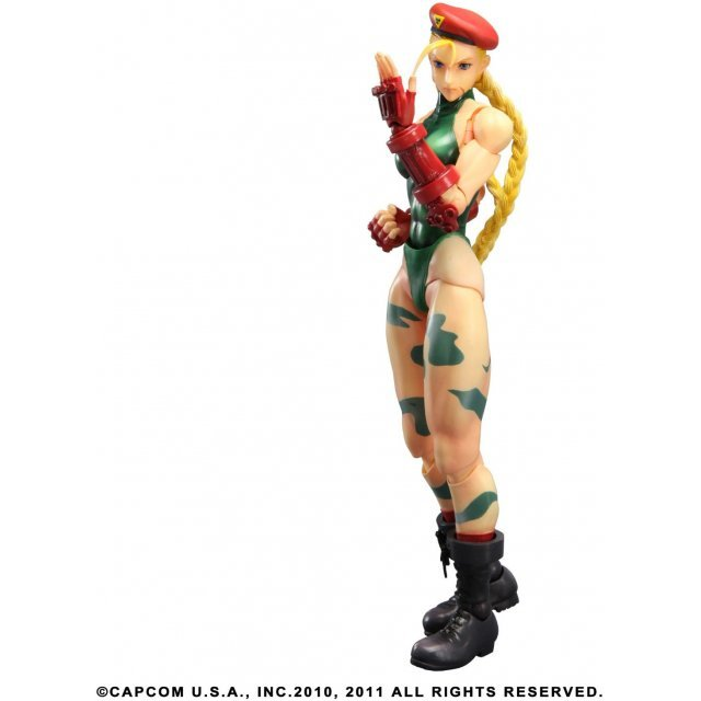 Super Street Fighter IV Arcade Edition Play Arts Kai Non Scale Pre-Painted PVC Figure: Cammy