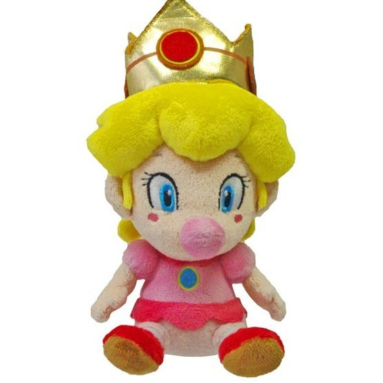 Super Mario Plush Series Doll: Baby Peach (Small Size)