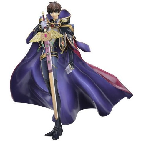 Code Geass Lelouch of the Rebellion R2 1/8 Scale Pre-Painted Figure: Kururugi Suzaku Knight of Zero