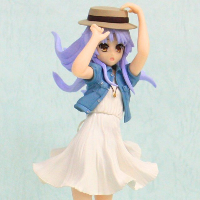 Angel Beats! Non Scale Pre-Painted PVC Scene Figure: Kanade Summer Clothes Ver.