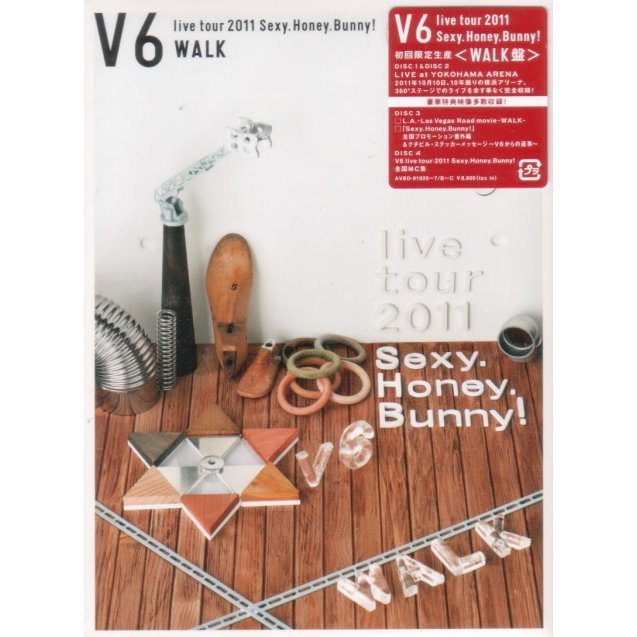 V6 Live Tour 2011 Sexy Honey Bunny [Limited Edition]