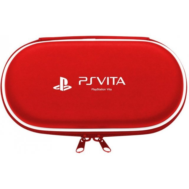 Hard Pouch for PlayStation Vita (Red)