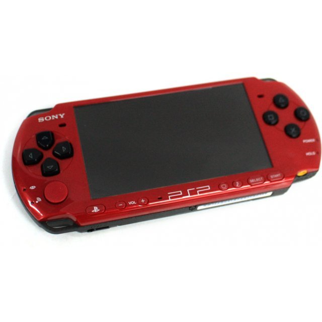 PSP PlayStation Portable Slim & Lite - Black & Red (PSP-3006XRB)