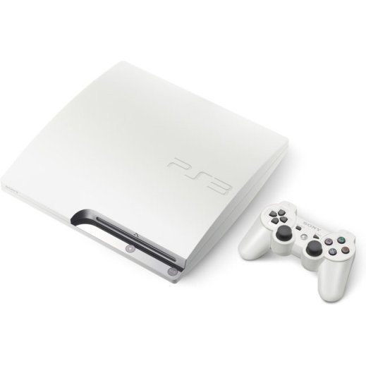 PlayStation3 Slim Console (HDD 320GB Classic White Model) - 220V