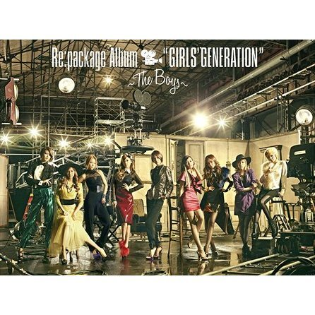 Re: Package Album Girls' Generation - The Boys [CD+DVD Limited Edition]
