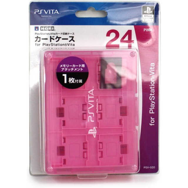 Card Case 24 for PlayStation Vita (Pink)