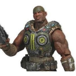 Gears of War 3 Series 2 Pre-Painted Action Figure: Augustus Cole