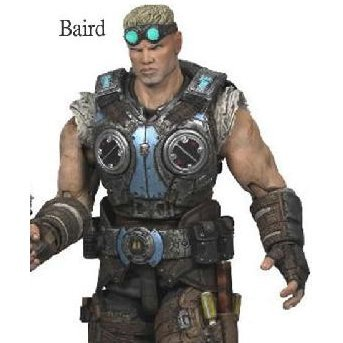Gears of War 3 Series 2 Pre-Painted Action Figure: Damon Baird