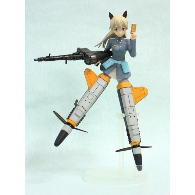 Strike Witches Non Scale Pre-Painted High Quality PVC Figure: Eila Ilmatar Juutilainen