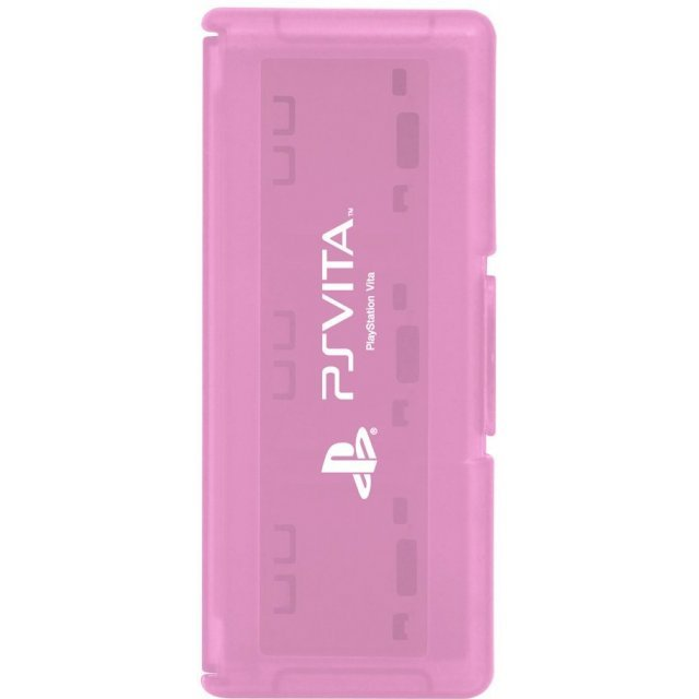 Card Case 6 for PlayStation Vita (Pink)