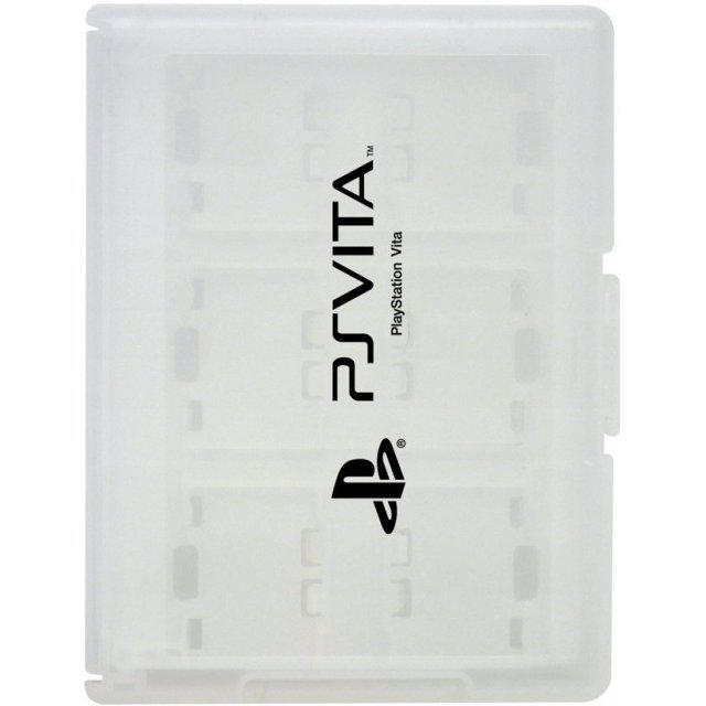 Card Case 12 for PlayStation Vita (White)