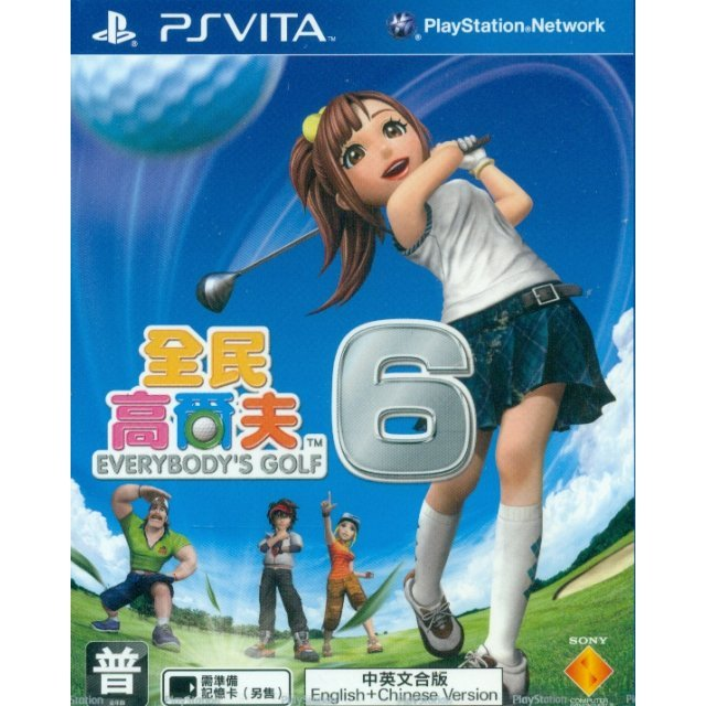 Minna no Golf 6 (Chinese & English Sub)