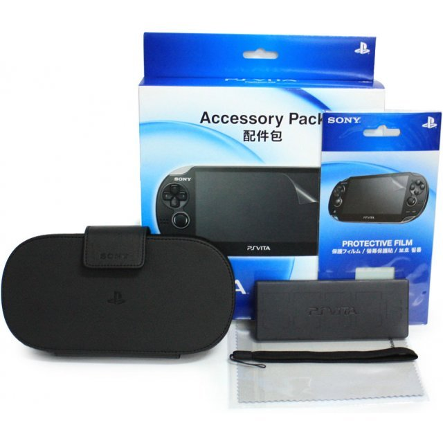 PS Vita PlayStation Vita Accessory Pack (Black)