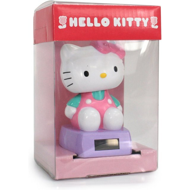 Hello Kitty Solar Power Dancing Mascot: Kitty Pink Ver.