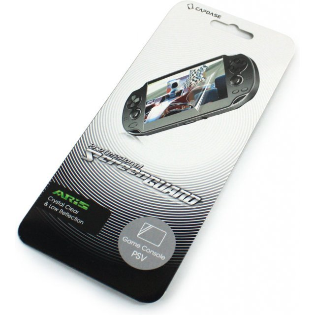 Capdase Aris Professional Screenguard (Crystal Clear + Low Reflection) Screen Only PS Vita