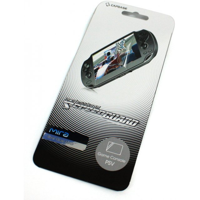 Capdase Mira Professional Screenguard (Silver Glass Mirror) Screen Only PS Vita