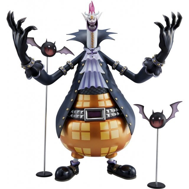 Excellent Model One Piece Neo DX Portraits of Pirates Non Scale Pre-Painted PVC Figure: Gecko Moria