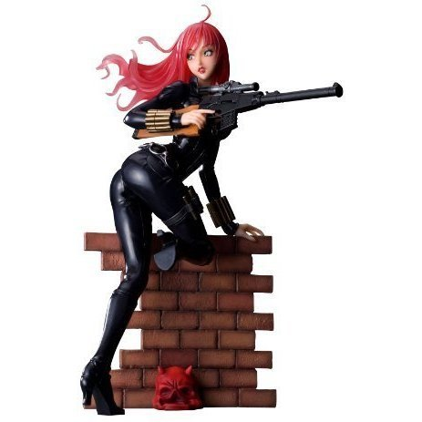 Marvel Bishoujo Collection 1/7 Scale Pre-Painted PVC Figure: Black Widow Covertops Ver.
