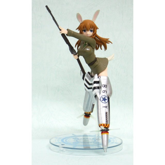 Strike Witches Non Scale Pre-Painted PVC Figure Vol. 5 : Charlotte E Yeager