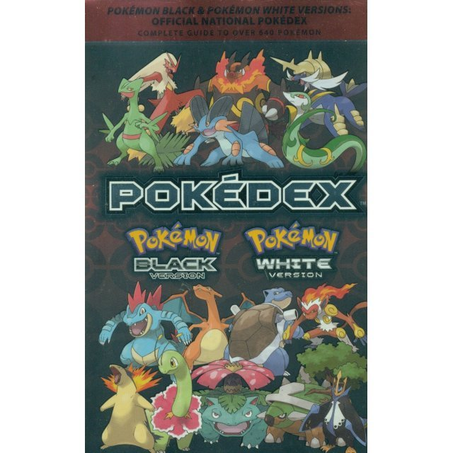 Pokemon Black & Pokemon White Versions: Official National Pokedex: The Official Pokemon Strategy Guide