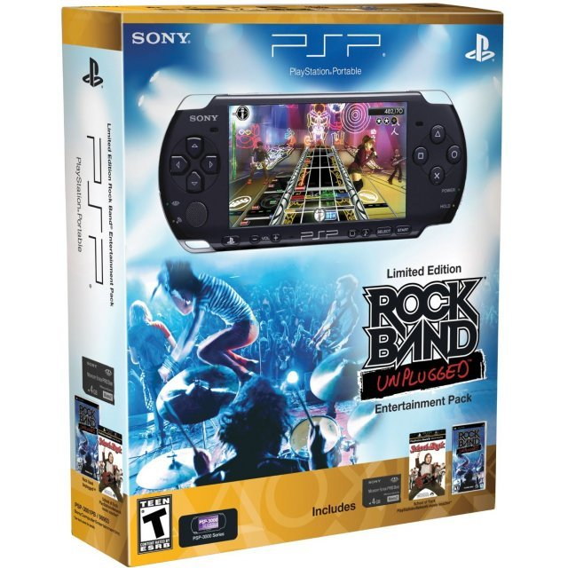 PSP Limited Edition Rock Band Unplugged Entertainment Pack PSP