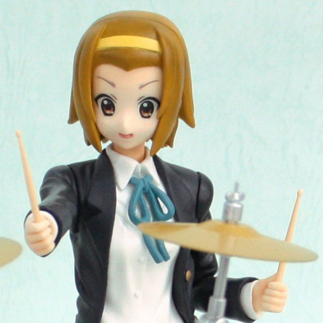 K-On! Non Scale Pre-Painted SQ PVC Figure: Tainaka Ritu
