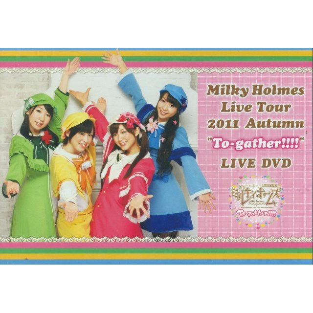 Milky Holmes Live Tour 2011 Autumn To-gather Live DVD