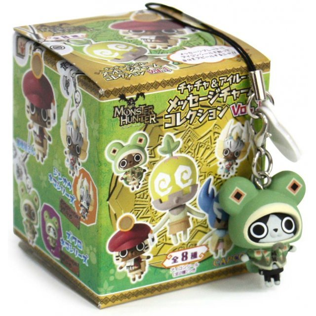 Monster Hunter Chacha & Airou Message Charm Collection Vol.1
