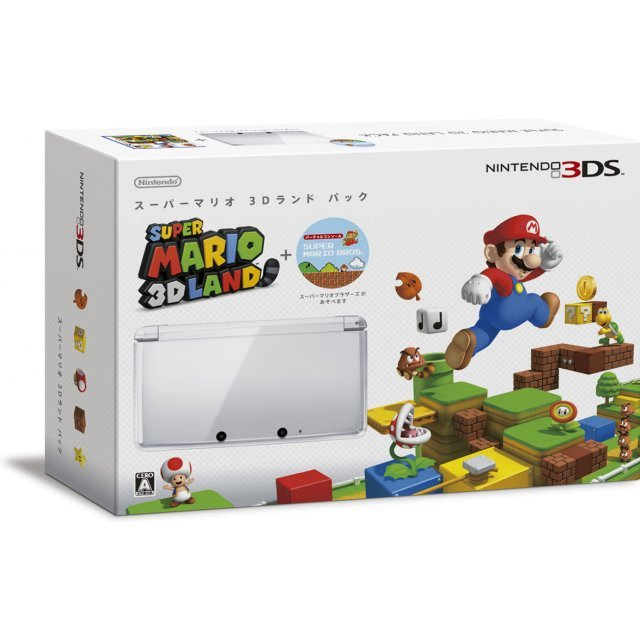 Nintendo 3DS (Super Mario 3D Land White Edition)