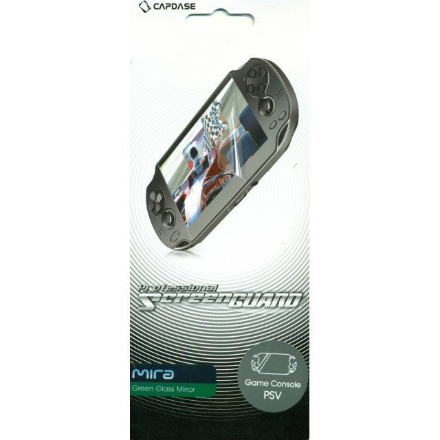 Capdase Mira Professional Screenguard (Green Glass Mirror) Full Cover PS Vita