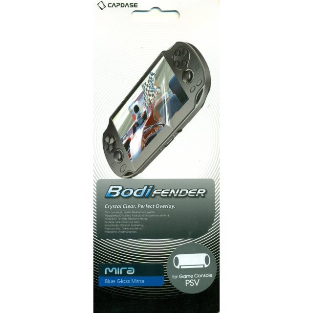 Capdase Mira BodiFender (Blue Glass Mirror) Back-Side Protector PS Vita