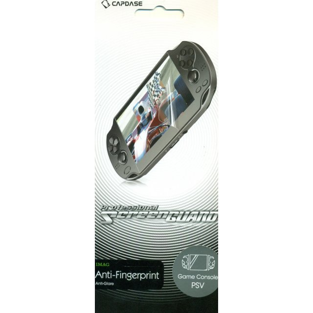 Capdase Imag Professional Screenguard (Anti-Fingerprint + Anti-Glare) Screen & Sides Panel PS Vita