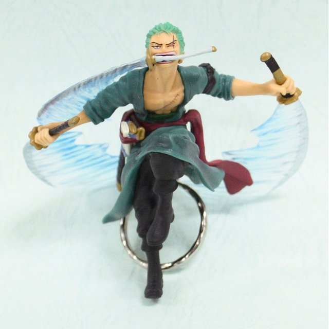 Banpresto One Piece Pre-Painted PVC Key Chain New World Merpeople Island Chapter: Type E