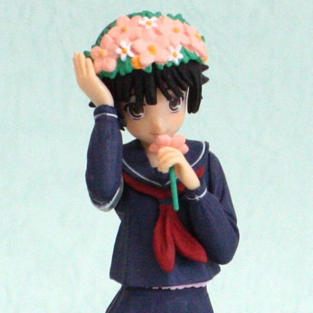 To Aru Majutsu no Index II Non Scale Pre-Painted PVC Figure Vol.2 : Uiharu Kazari Winter Style Ver.