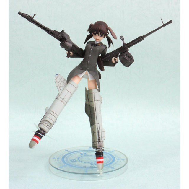 Strike Witches Non Scale Pre-Painted PVC Figure Vol. 6 : Gertrud Barkhorn