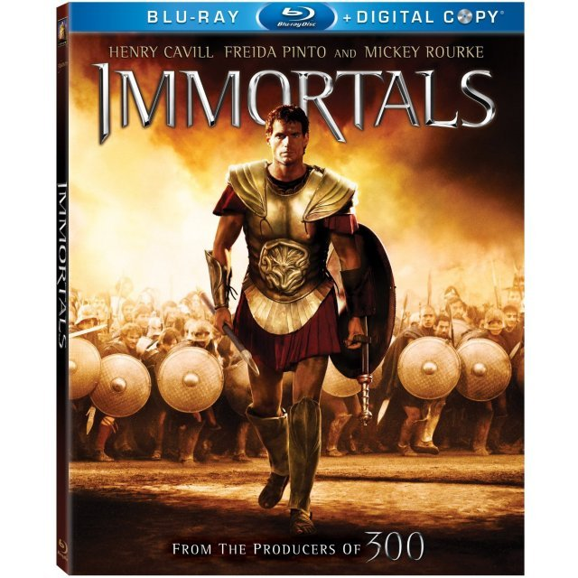 Immortals [Blu-ray+Digital Copy]