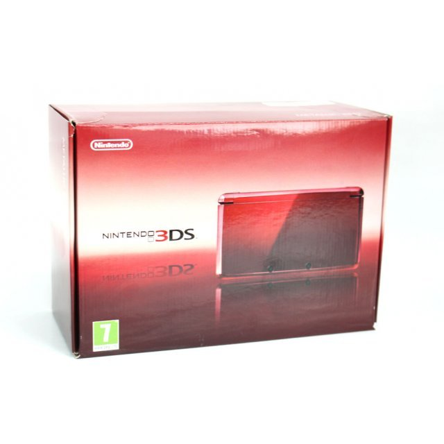 Nintendo 3DS (Metallic Red)