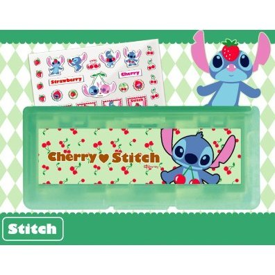 Disney Character Card Case 6 Seal Set for Nintendo 3DS (Stitch)