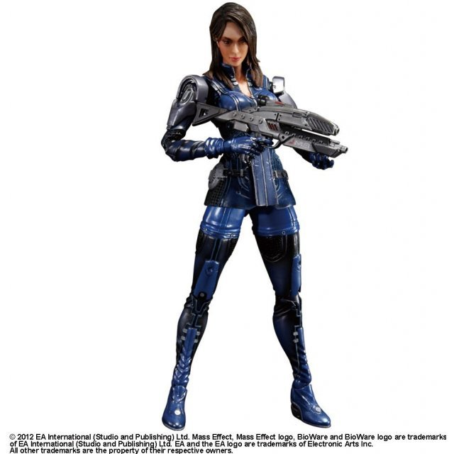 Square Enix Mass Effect Play Arts Kai Pre-Painted Figure: Ashley Williams